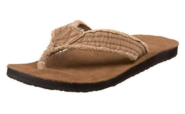 Sanuk Men's Fraid Not Flip-Flop (10 D(M)